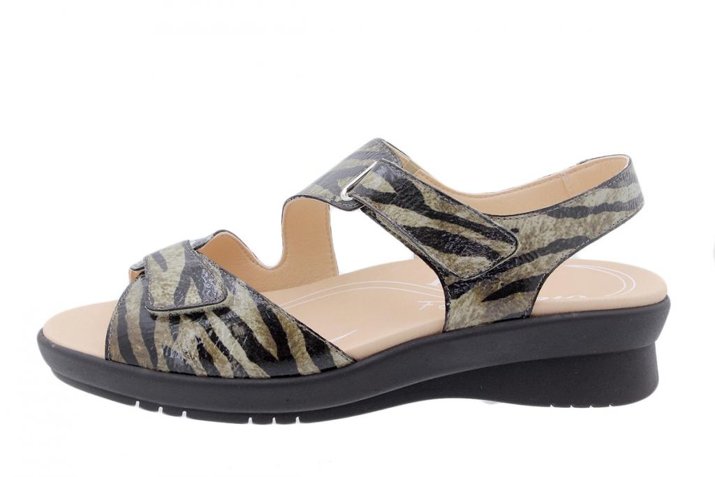 Removable Insole Sandal Beige Suede 200891