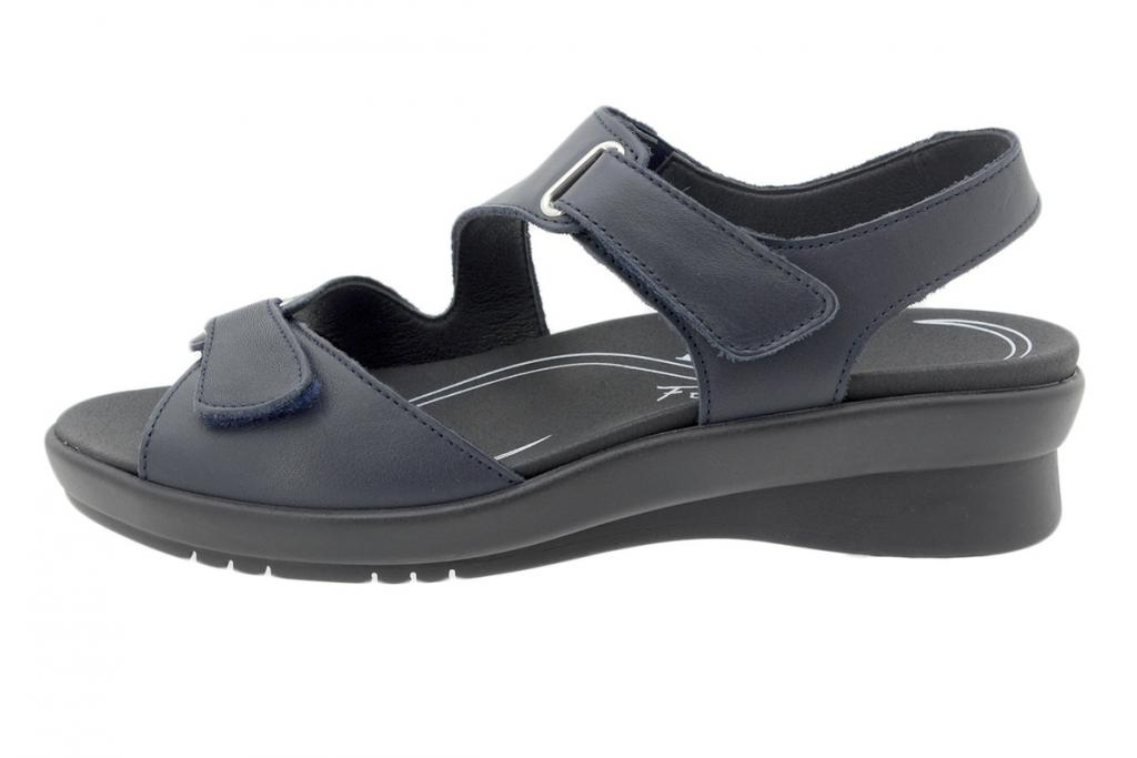Removable Insole Sandal Blue Leather 200891