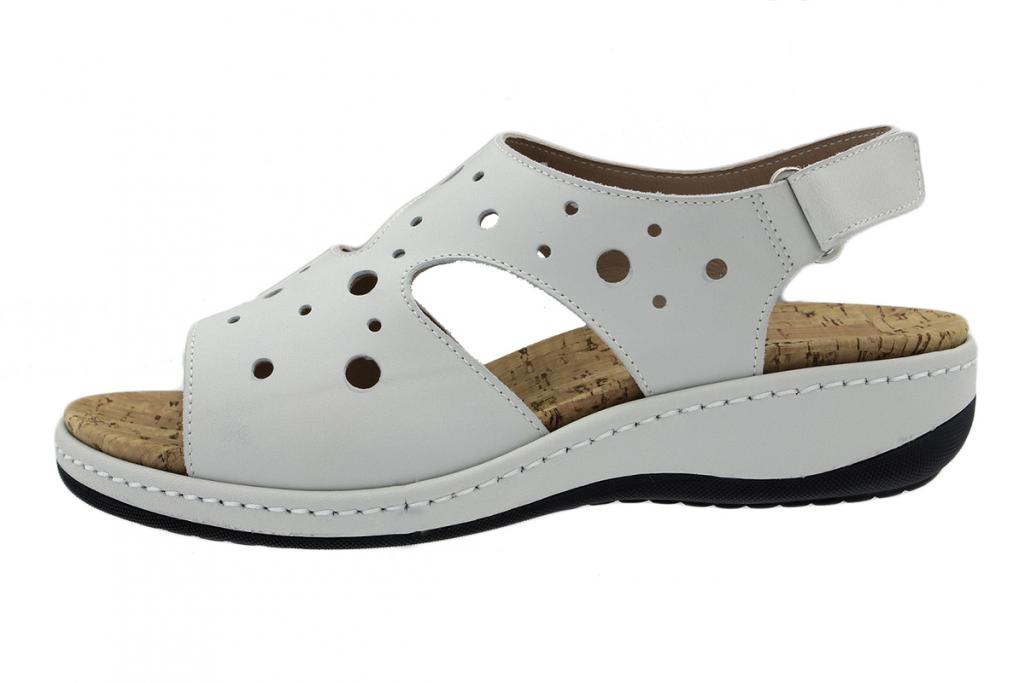 Removable Insole Sandal Ice Leather 200907