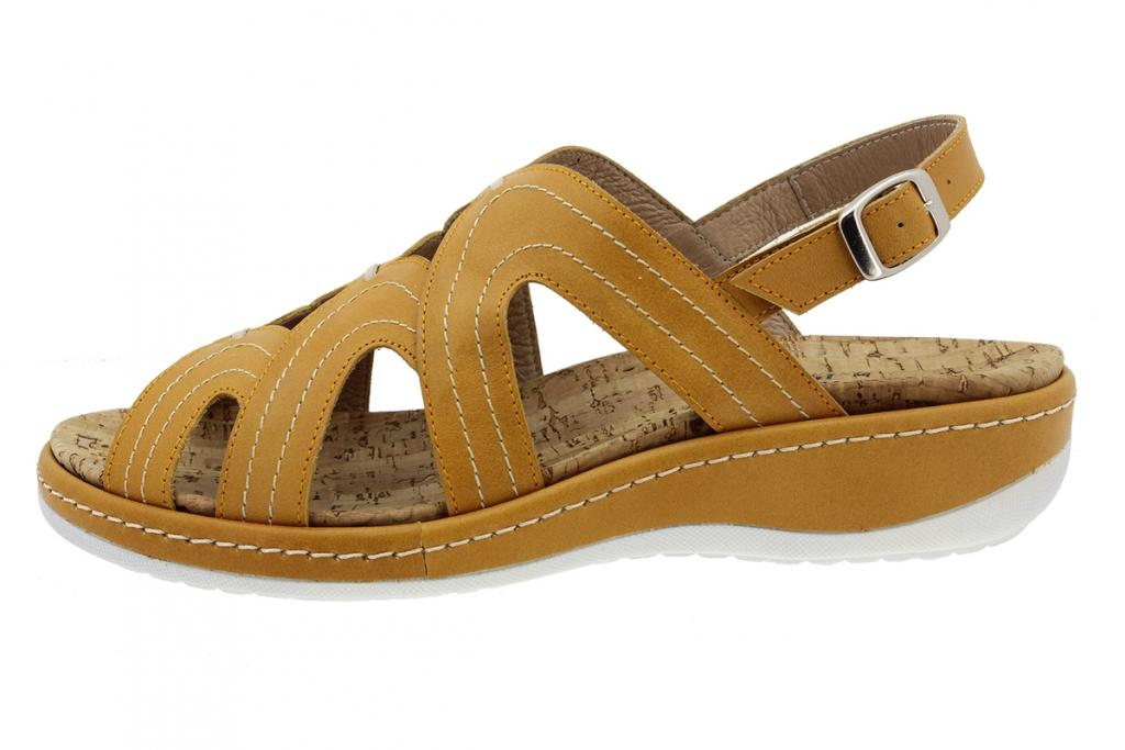 Removable Insole Sandal Mango Leather 200908