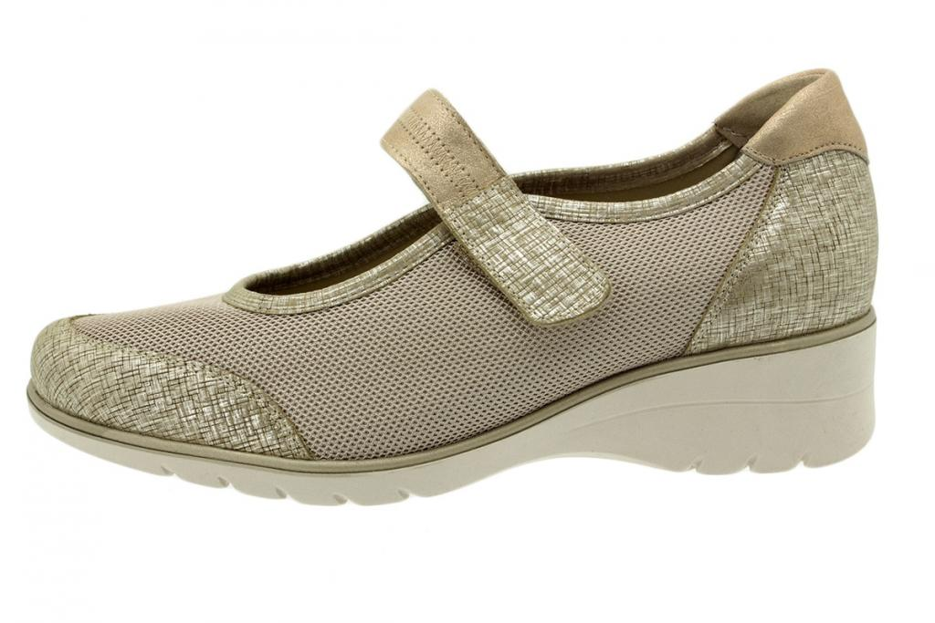 Mary-Jane Print Beige 200960