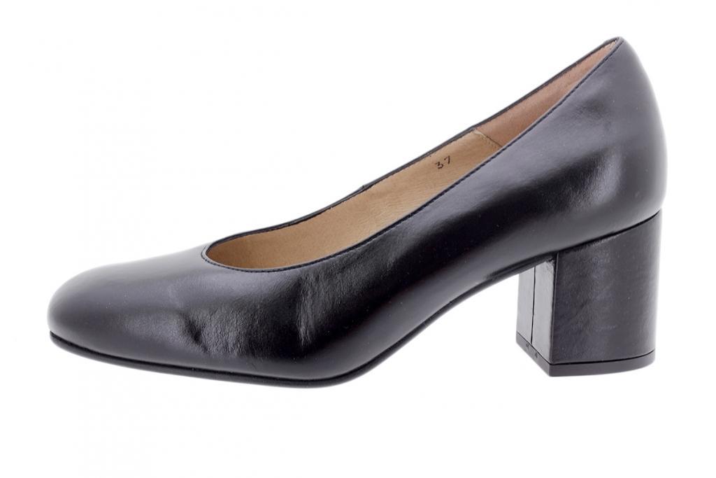 Pump Black Leather 205301
