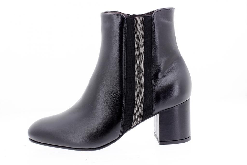 Ankle boot Black Leather 205318