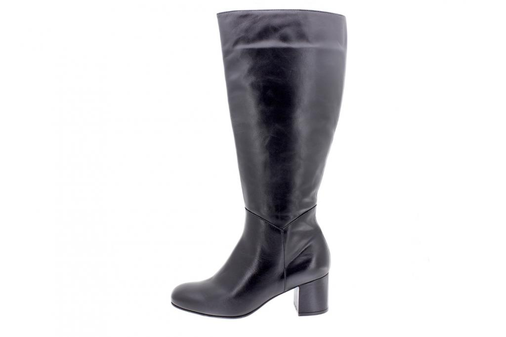 Boot Black Leather 205320 XL