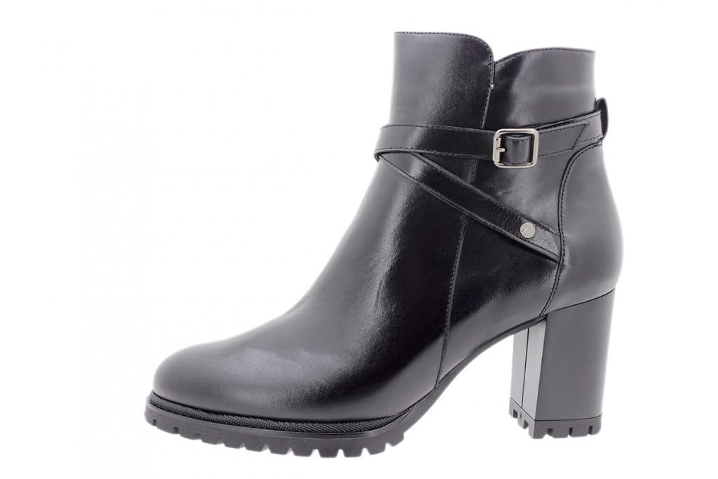 Ankle boot Black Leather 205435