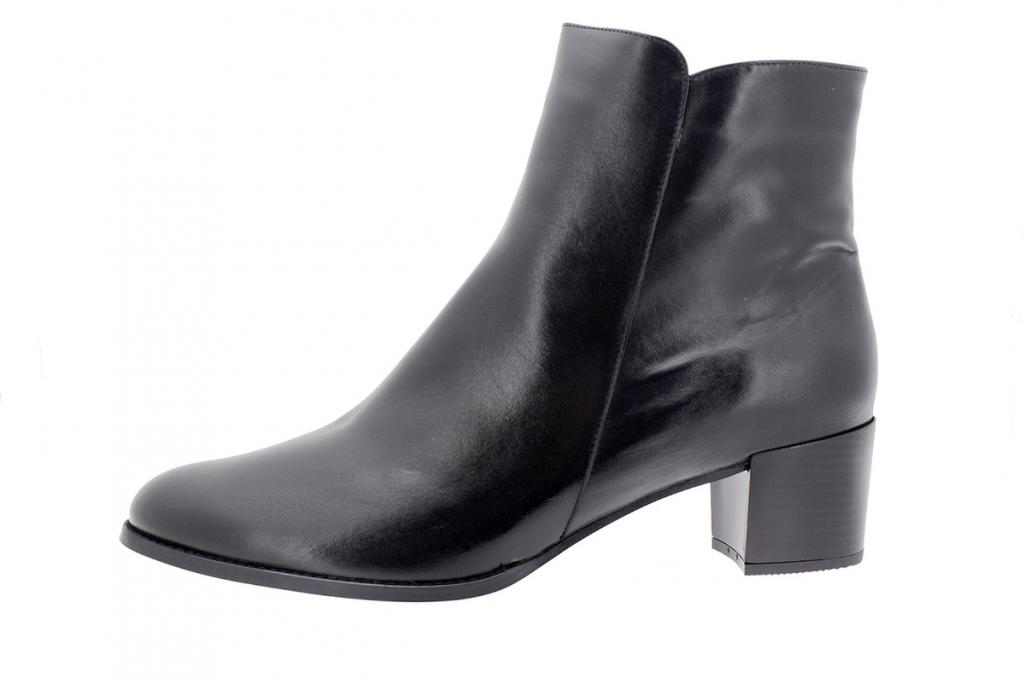 Ankle boot Black Leather 205445