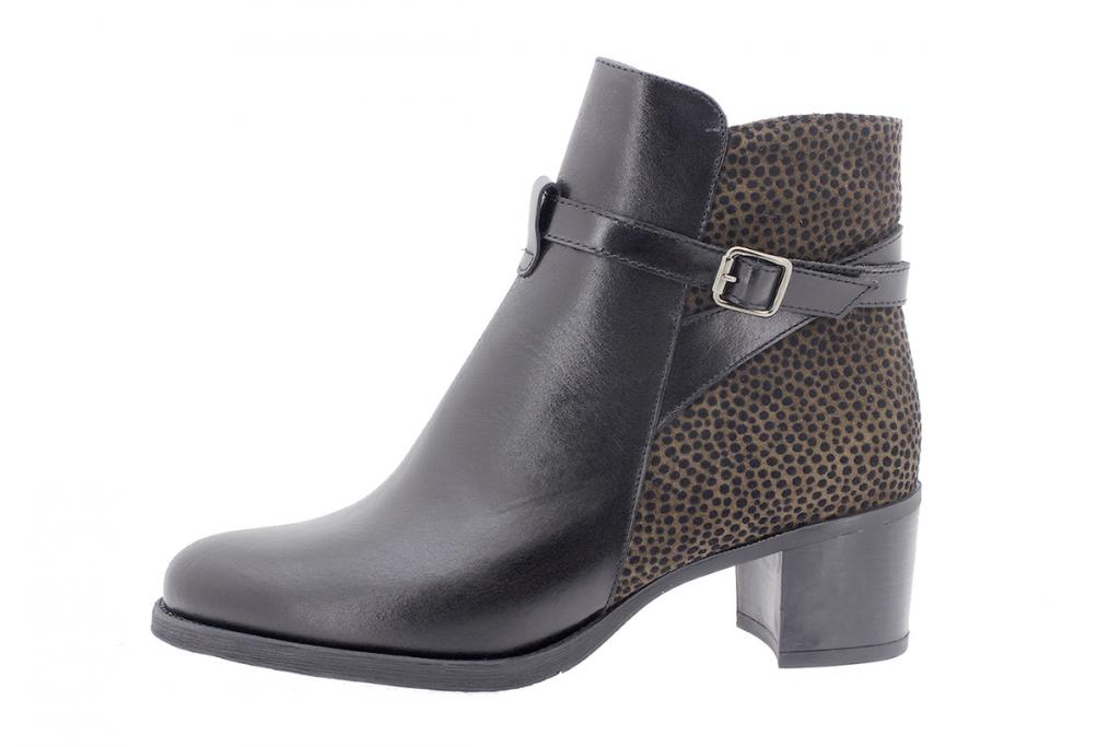 Ankle boot Black Leather 205446