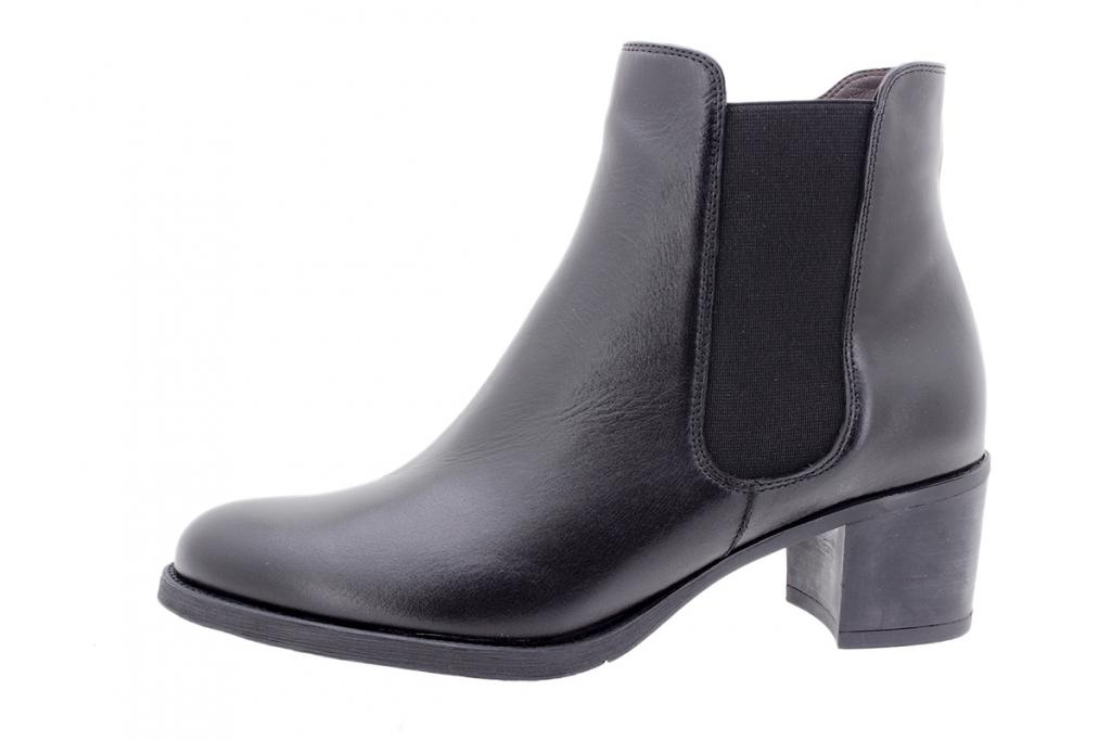 Ankle boot Black Leather 205447