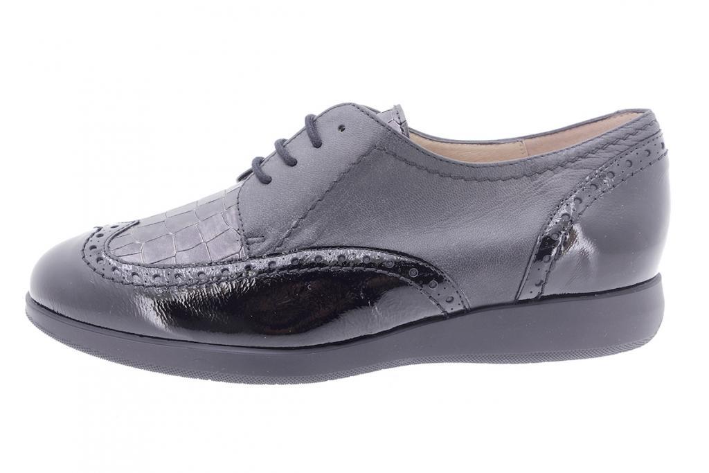 Lace-up shoe Black Patent 205540