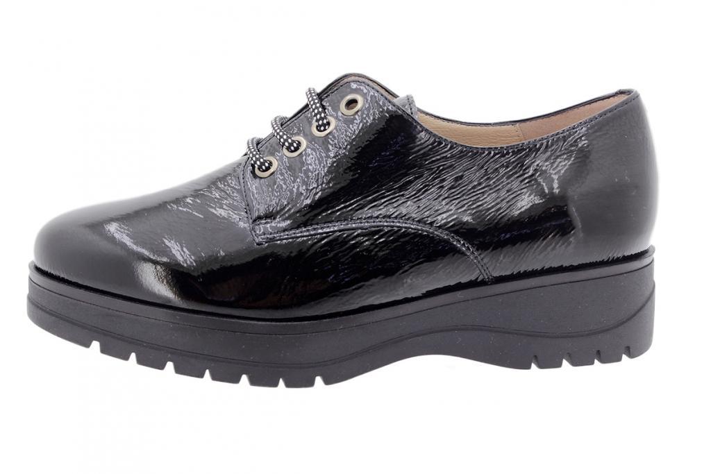 Tie shoe Black Patent 205655