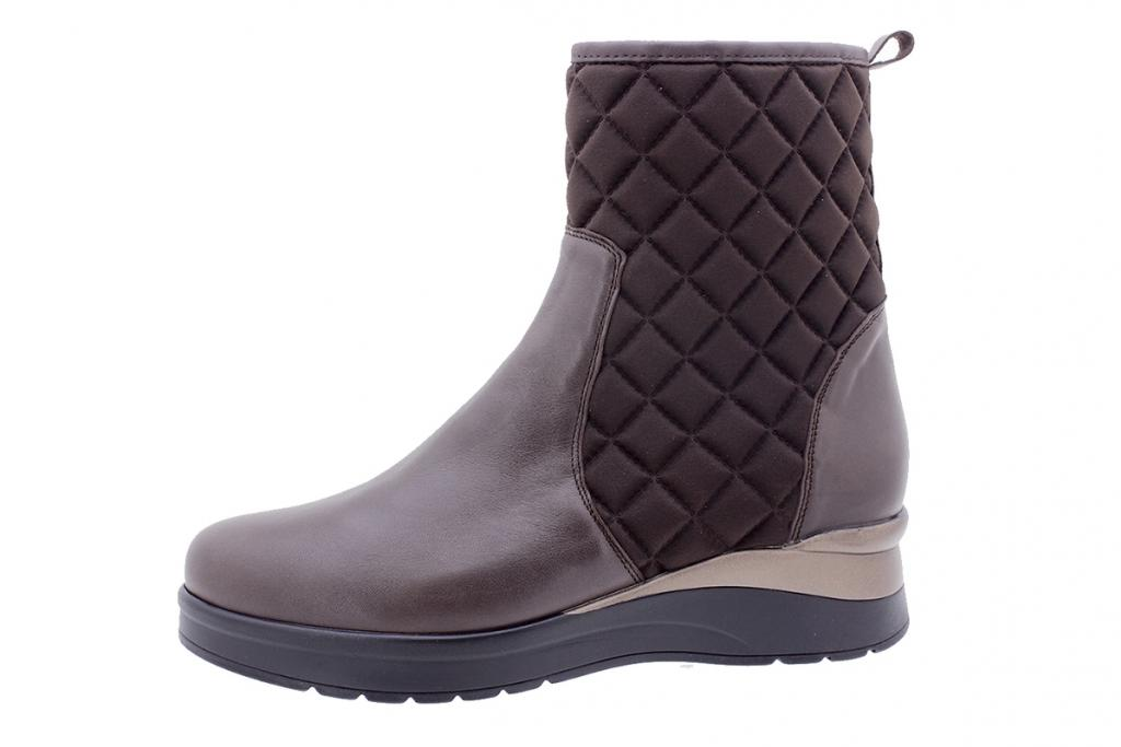 Ankle boot Brown Leather 205745