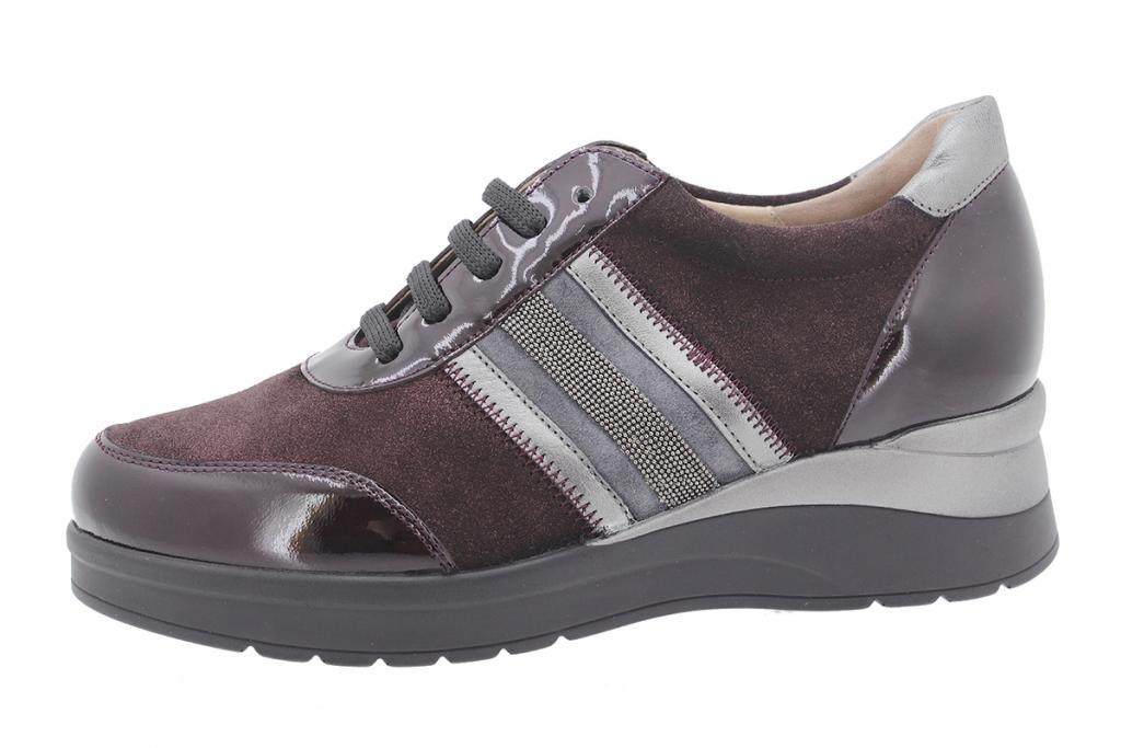 Tie shoe Bordeaux Patent 205751