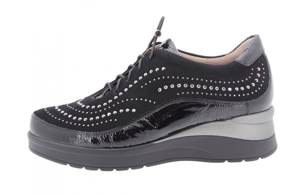 Tie shoe Black Patent 205754