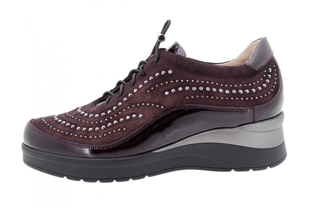 Tie shoe Bordeaux Patent 205754
