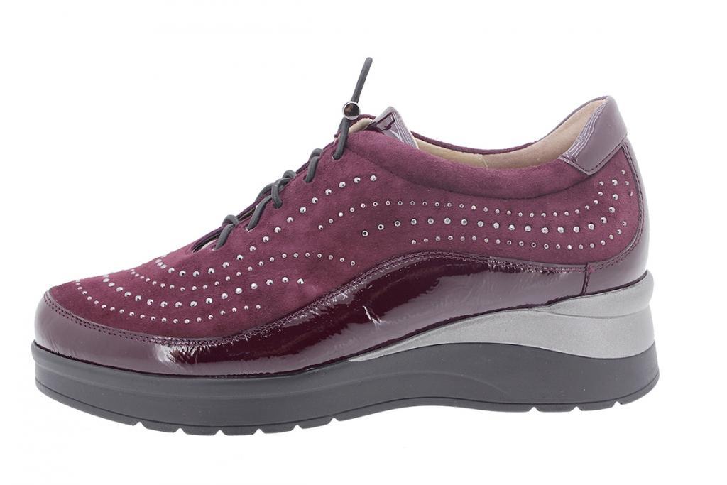 Lace-up shoe Bordeaux Patent 205754