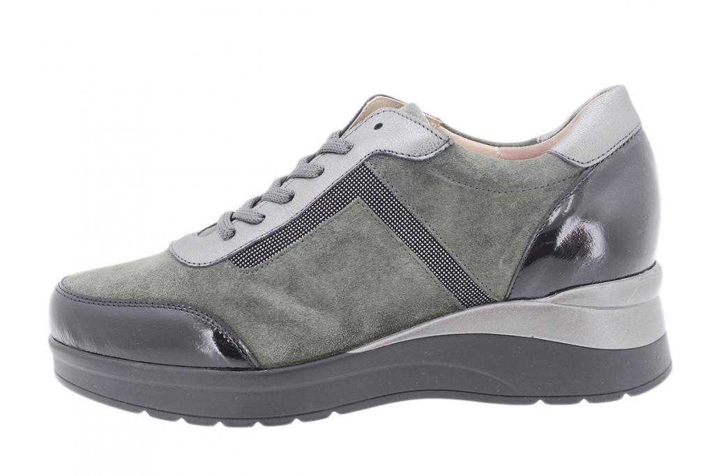 Lace-up shoe Black Patent 205756
