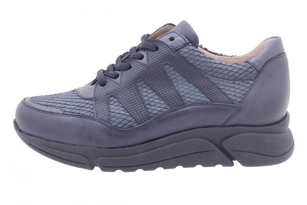 Sneaker Blue Leather 205763