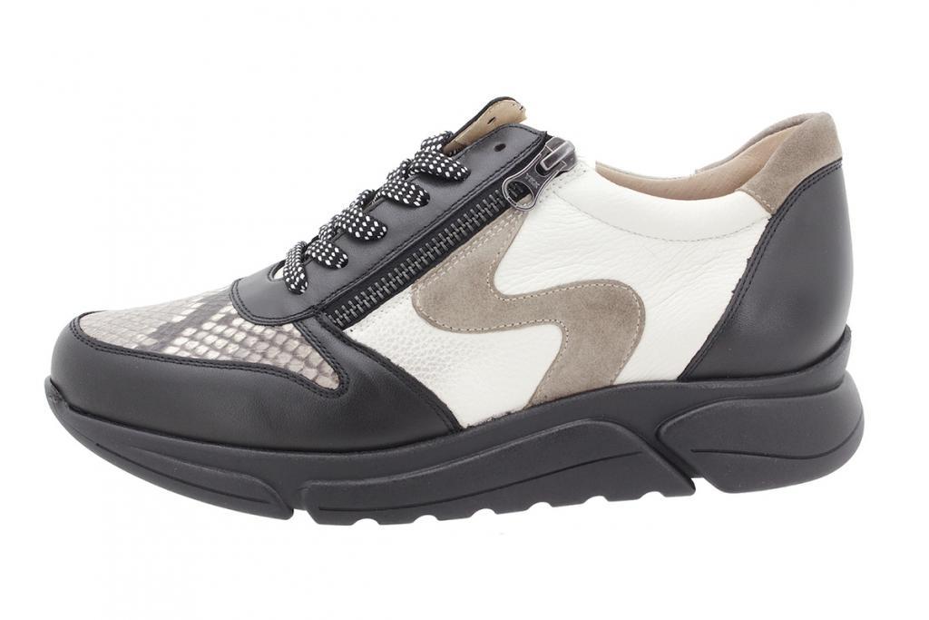Sneaker Black Leather 205766