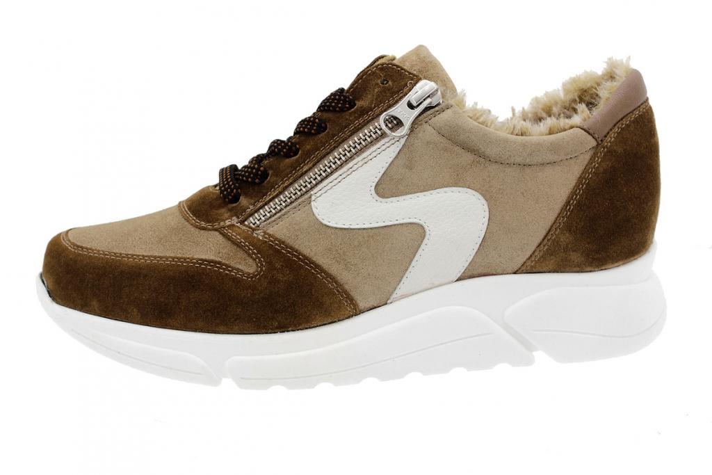 Sneaker Tan Suede 205766