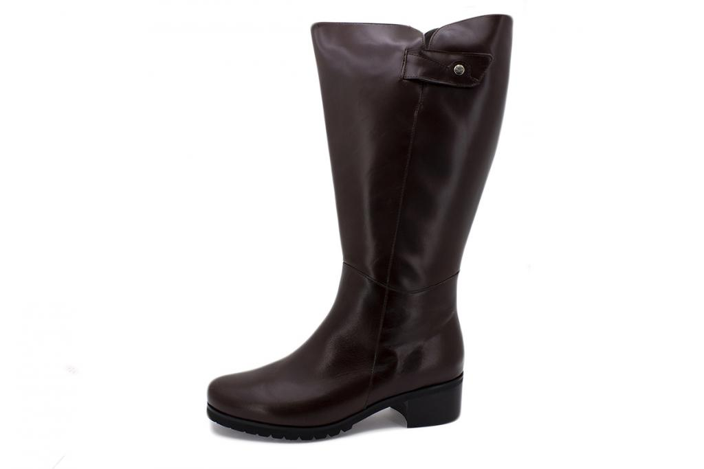 Boot Brown Leather 205821 2XL