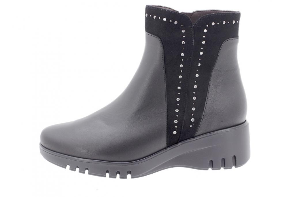Ankle boot Black Leather 205901