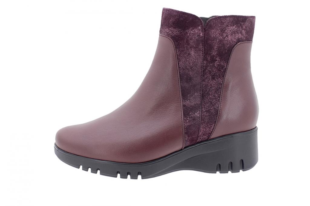 Ankle boot Bordeaux Leather 205901