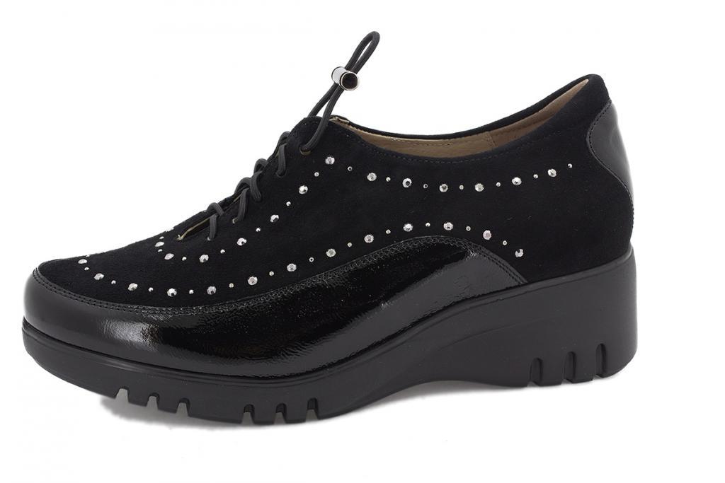 Lace-up shoe Black Patent 205924