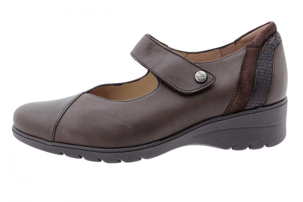 Mary-Jane Brown Leather 205953