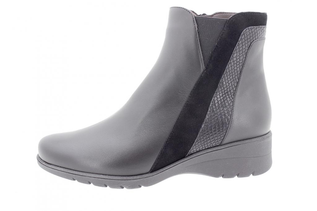 Ankle boot Black Leather 205973