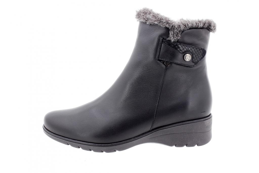 Ankle boot Black Leather 205974