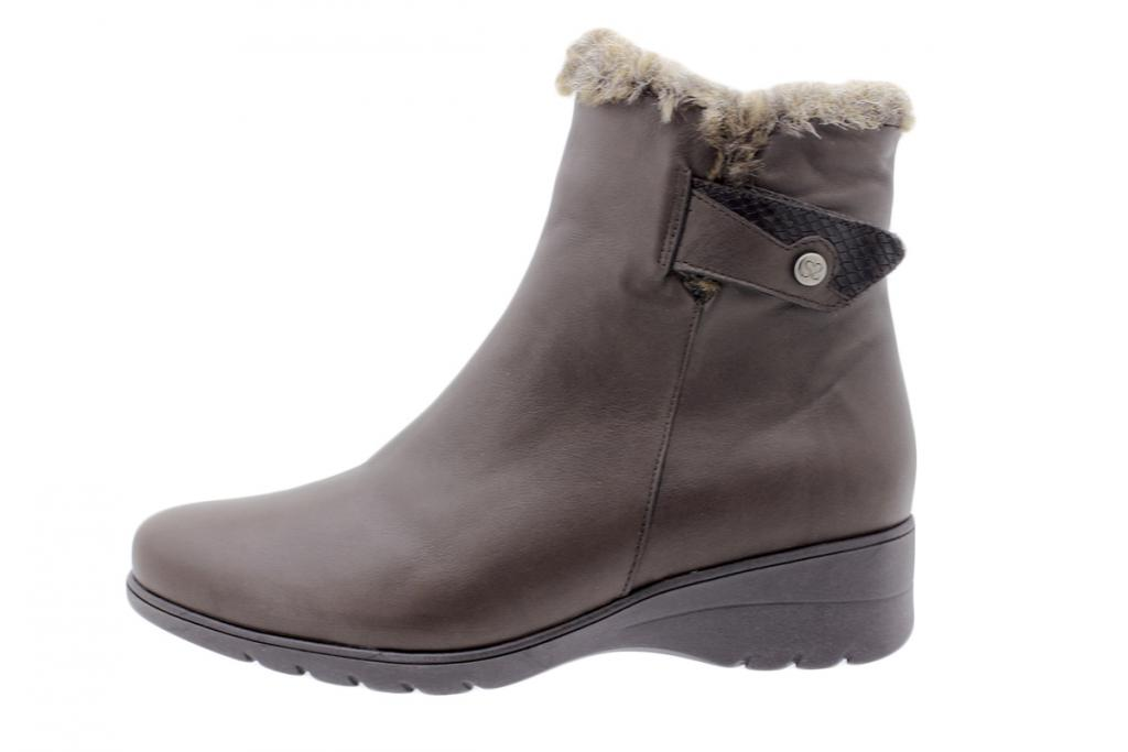 Ankle boot Brown Leather 205974