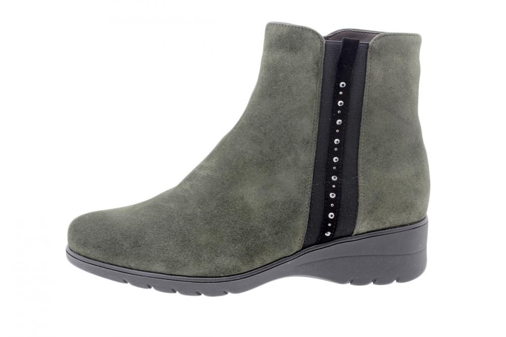 Ankle boot Green Suede 205977