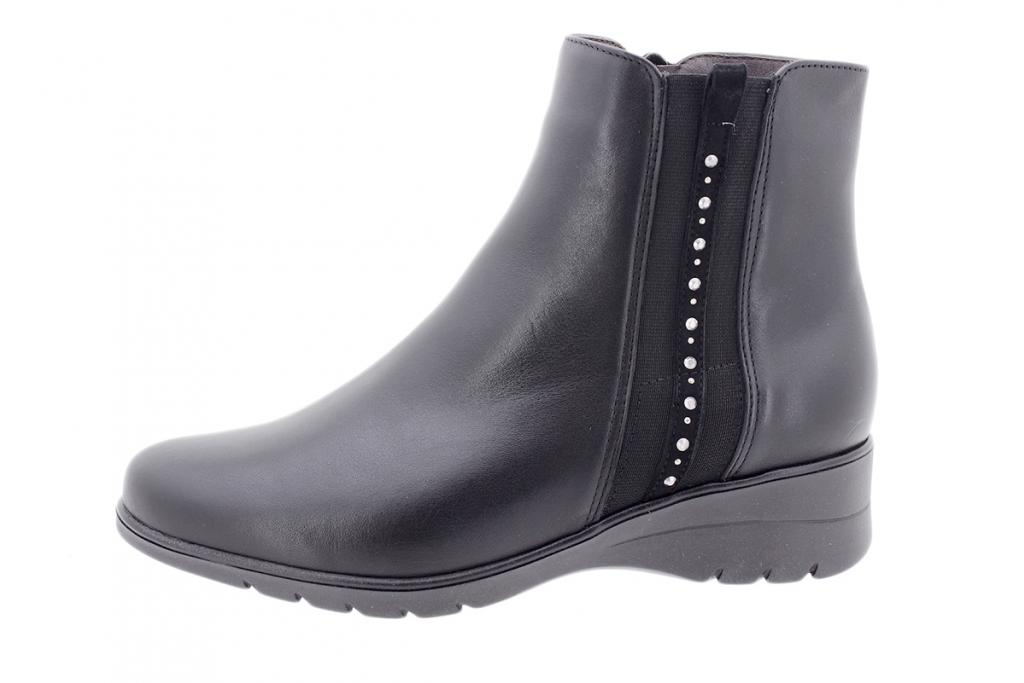 Ankle boot Black Leather 205977