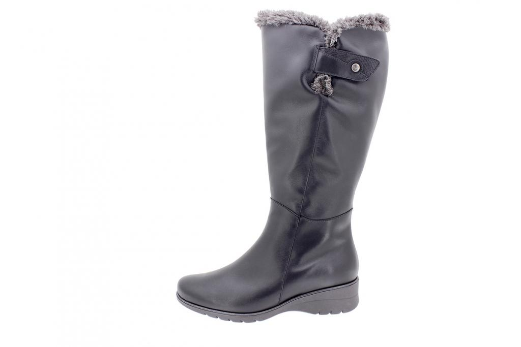 Boot Black Leather 205981 2XL