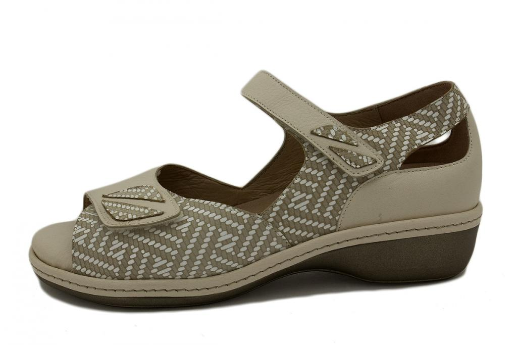 Removable Insole Sandal Sand Leather 210409