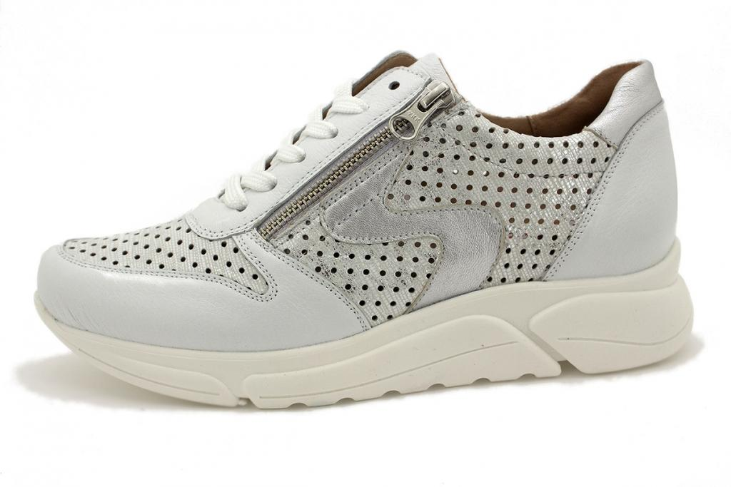 Sneaker White Leather 210768