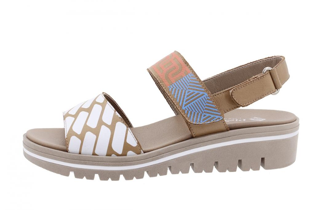 Removable Insole Sandal Tan Leather 210772