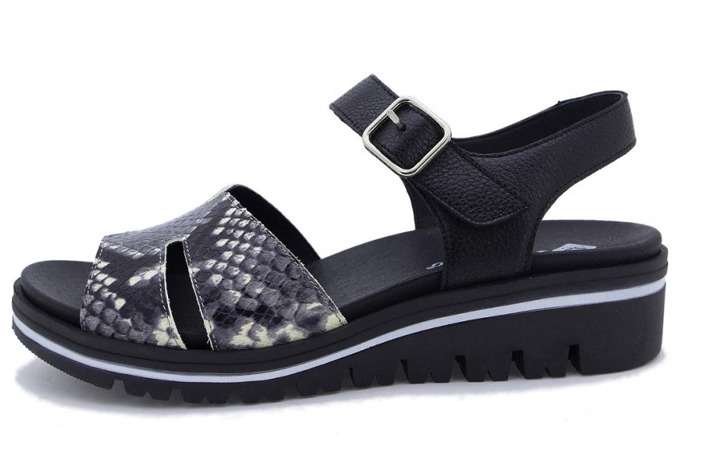 Removable Insole Sandal White Snake 210775
