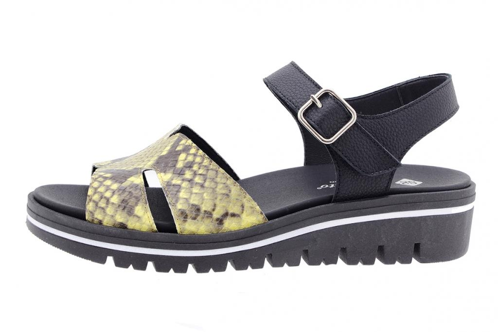 Removable Insole Sandal Curry Snake 210775