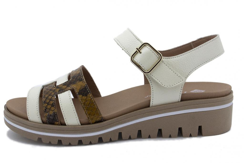 Removable Insole Sandal Ice Leather 210777