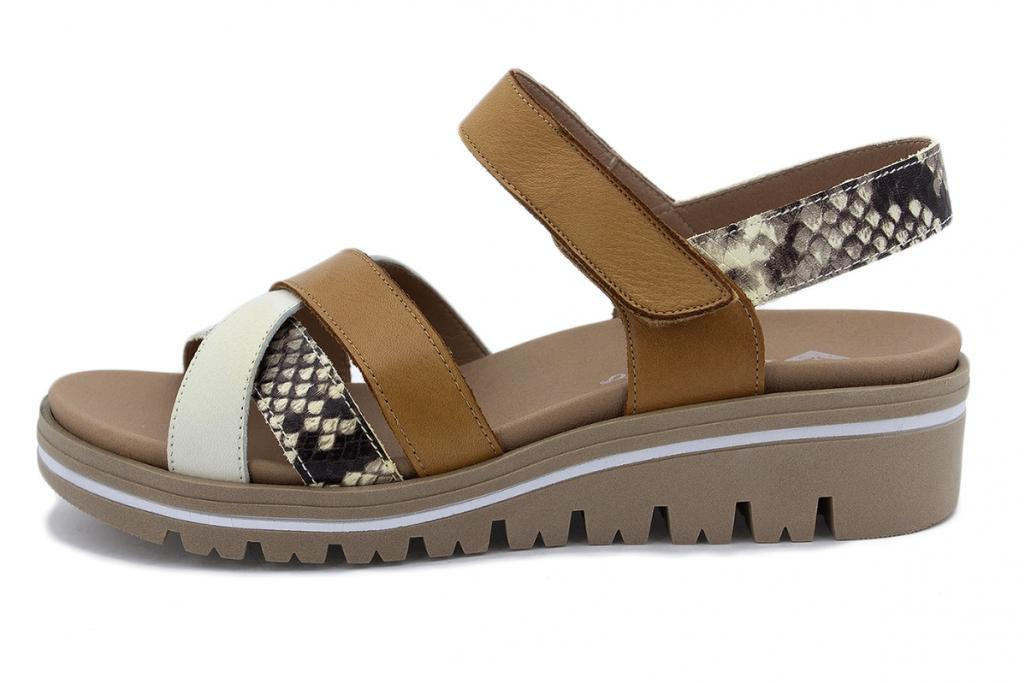 Removable Insole Sandal Ice Leather 210784