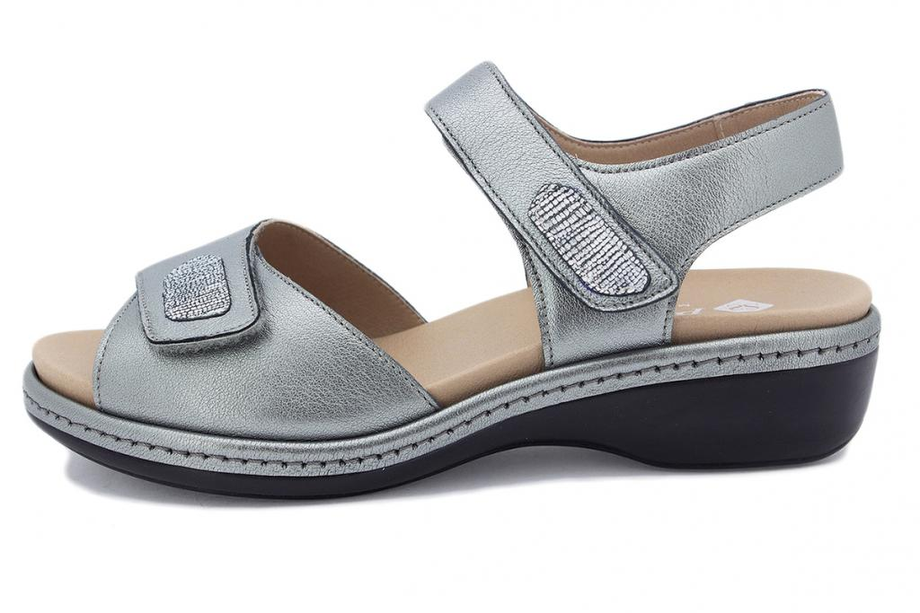 Removable Insole Sandal Steel Metal 210802