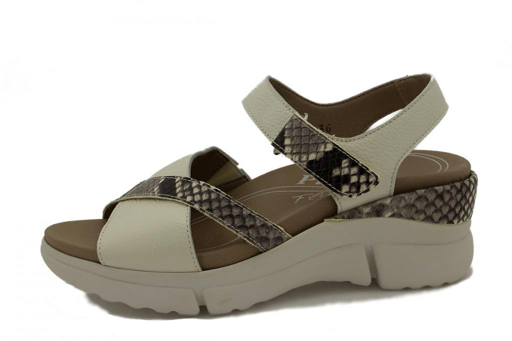 Removable Insole Sandal Ice Leather 210875