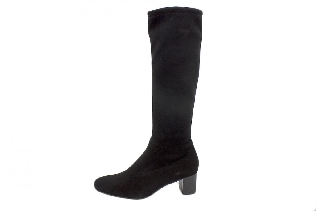 Boot Black Suede 215275