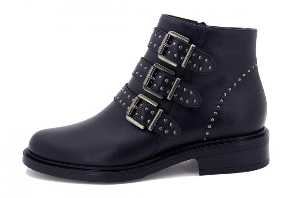 Ankle boot Black Leather 215347