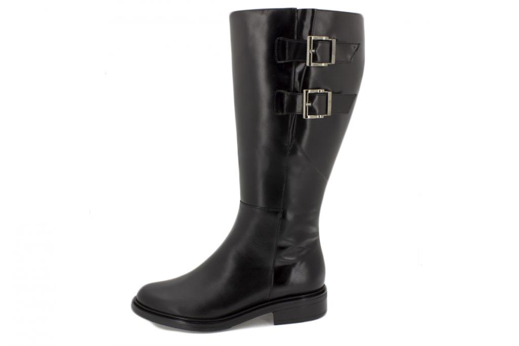 Boot Black Leather 215351