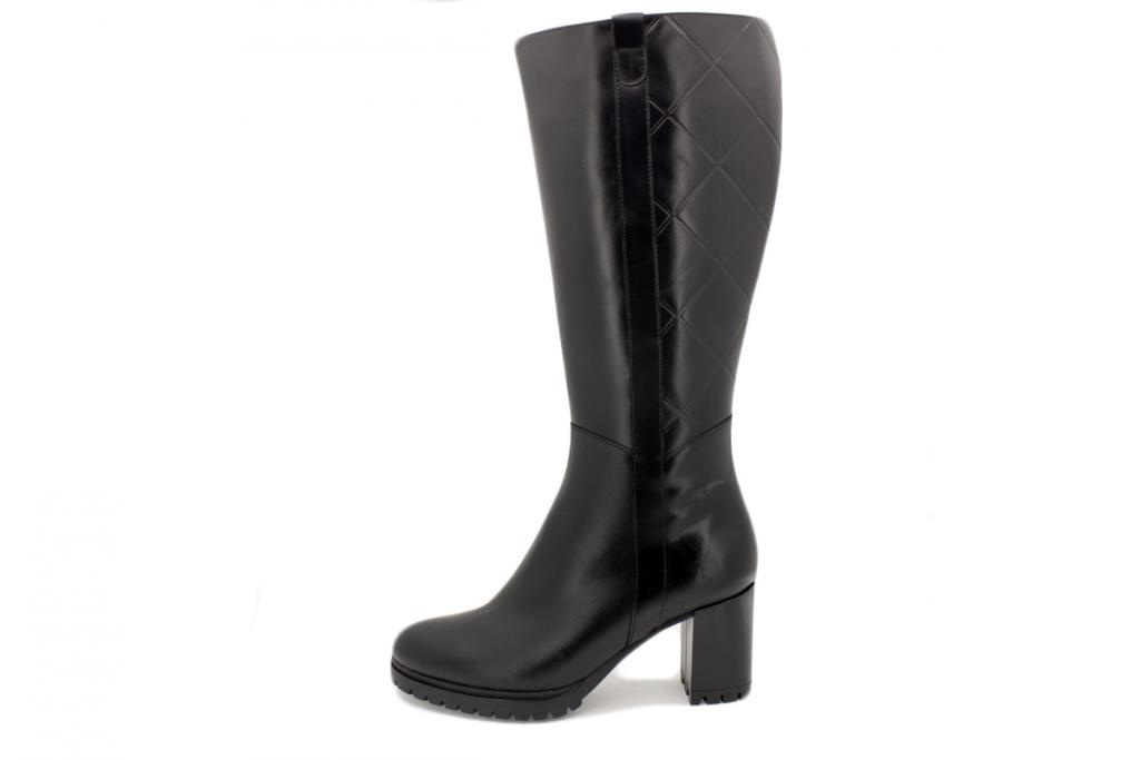 Boot Black Leather 215440