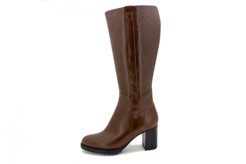 Boot Coffee Leather 215441