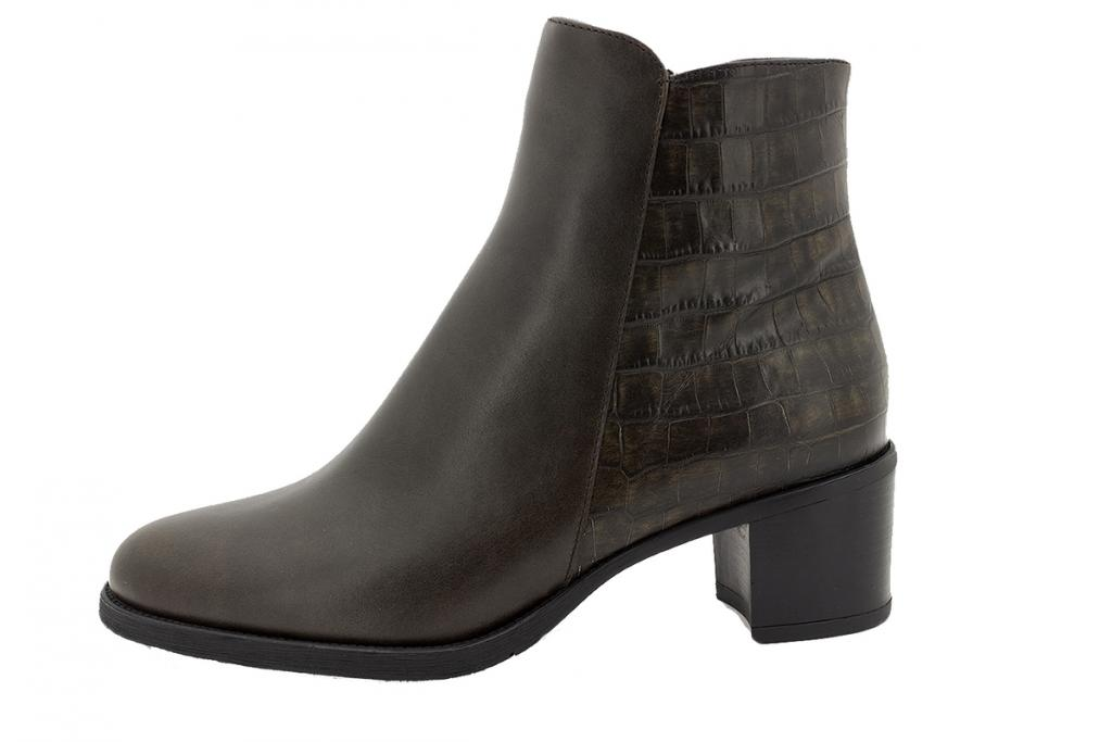 Ankle boot Brown Leather 215445