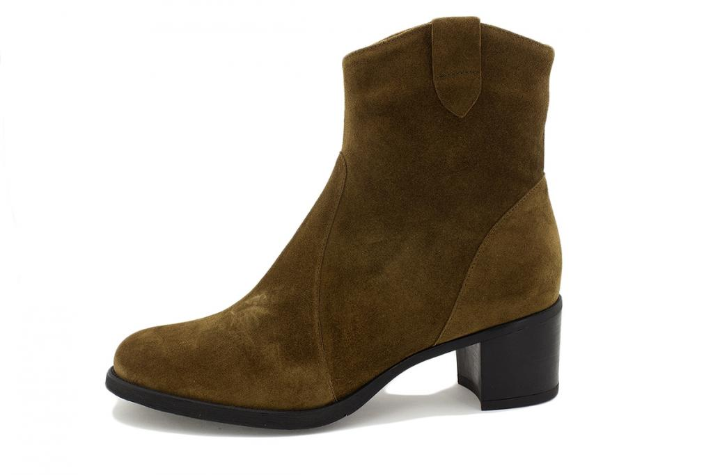 Ankle boot Tan Suede 215449